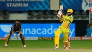 CSK vs KKR 2020, IPL Today Match Report: Ruturaj Gaikwad Fifty, Ravindra Jadeja Blitzkrieg Help Chennai Super Kings Clinch Thriller vs Kolkata Knight Riders, Send Mumbai Indians Into Playoffs